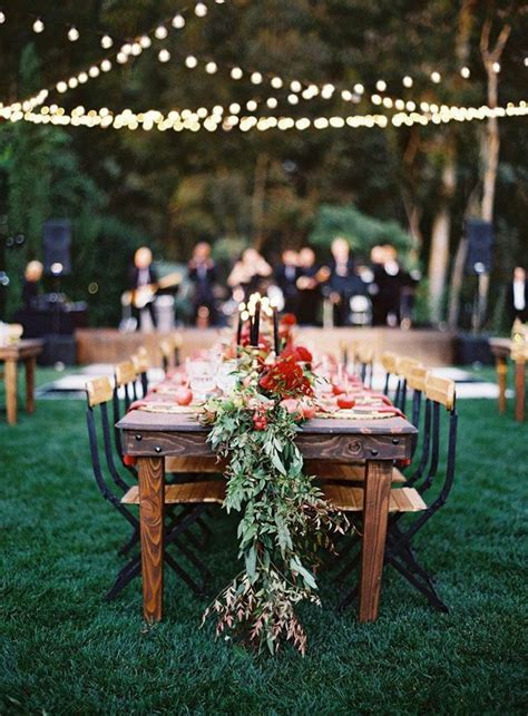 autumn wedding table decor ideasfall wedding table ideas