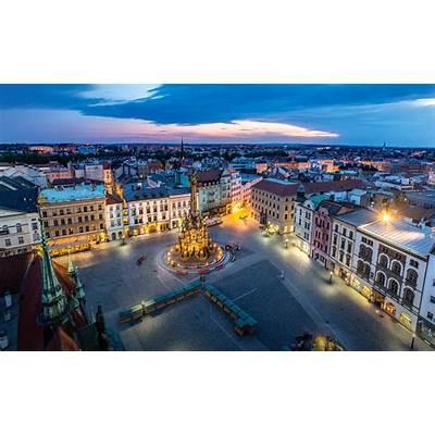 Czech Republic - Upper Square palaces in Olomouc