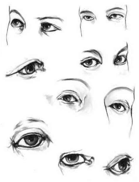 tecniche per colorare l disegnare gli occhi