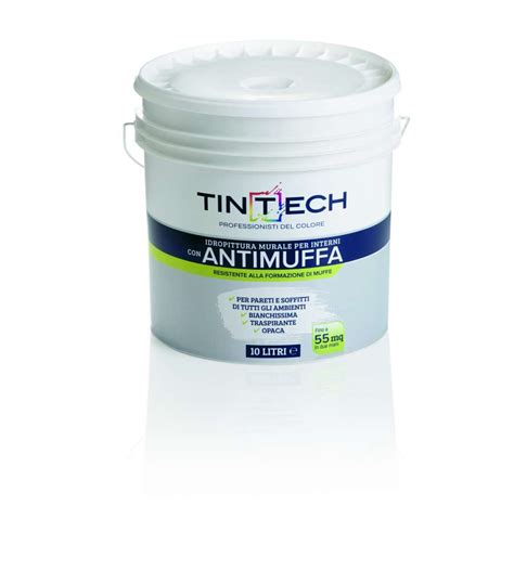 Pitture Antimuffa Per Interni Pittura Antimuffa 10l