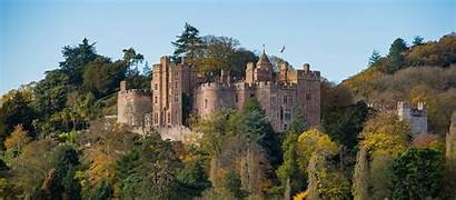Castle Medieval Dunster Gb Country Tour