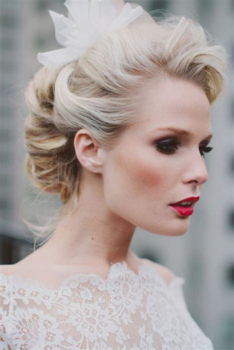 wedding hairstyles with details modwedding