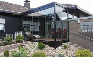 Terrassen uberdachung flachdach mit glas for überdachung terrasse glas