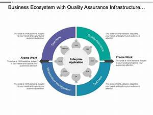 Business Ecosystem With Quality Assurance Infrastructure