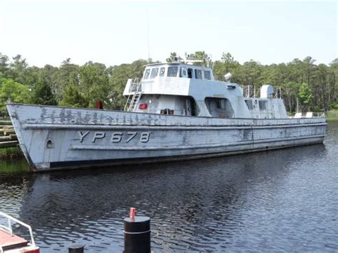 Surplus Patrol Boats by Retired Naval Academy 108 Foot Patrol Boat On Craigslist
