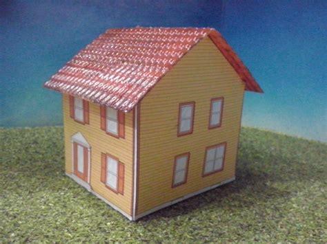 como hacer casa de carton maquetas car pictures tren casa de carton 2 escala ho maqueta