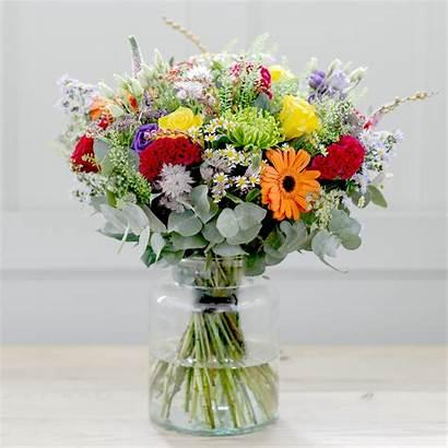 Bouquet Luxury Flower Garden Bouquets Path Flowers