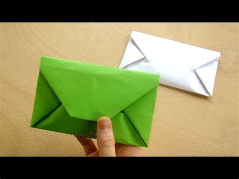 briefumschlag selber falten origami briefumschlag falten einfaches diy kuvert basteln mit papier din a4