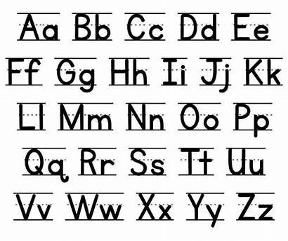 Alphabet Chart Manuscript Printable Printablee