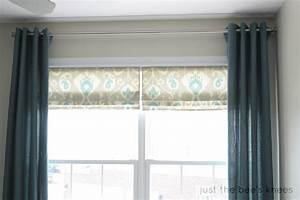 Remodelaholic how to create a faux roman shade for Curtains that look like roman shades