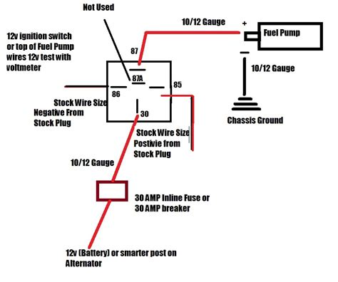 Wiring Fuel Pump Wires Have Question Stealth