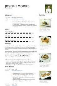 chef resume sample examples sous chef jobs free With chef portfolio template
