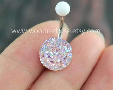 sparkling belly ringblingbling belly button ringclear