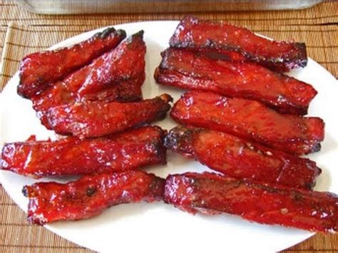 chinese red ribs ep  asian elviscooks