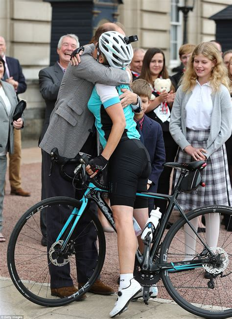 Sophie Countess Wessex Completes Mile Cycle From