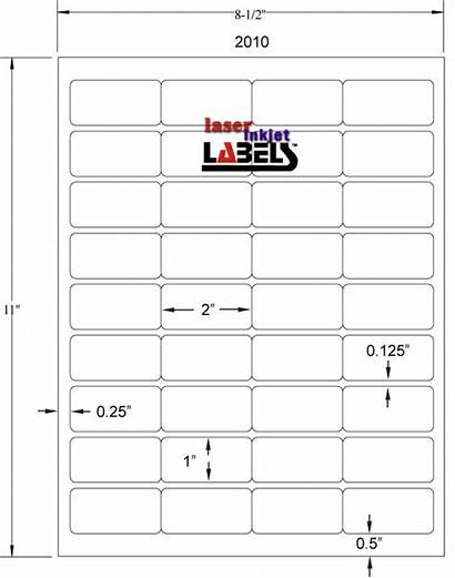 Label Labels Rectangle Laser Sizes Poly Emerald