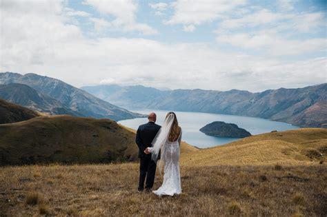 magical elopement wedding high   mountains