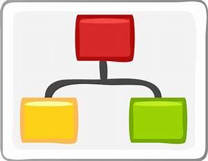 Block Diagram Visio Hierarchy Clip Art Clip Art At Clker
