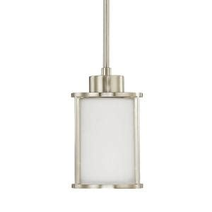 Home Decorators Collection Lighting by Home Decorators Collection 1 Light Brushed Nickel Mini