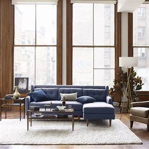 crosby 2 piece chaise sectional west elm australia new With west elm crosby sectional sofa
