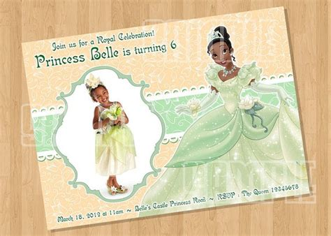Princess tiana birthday invitations ivoiregion princess tiana birthday invitations 31 best princess and the frog quotes images on pinterest princesses the princess and disney films filmwisefo