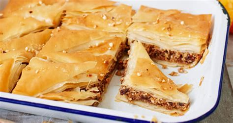 mince pie baklava recipe ready  pastry jus rol