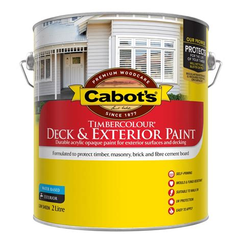 cabots deck stain bunnings cabot s 2l brown timbercolour deck exterior paint