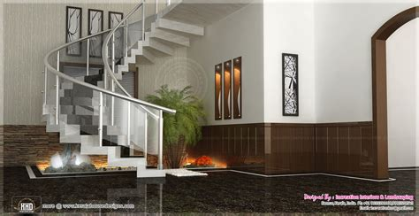 sunken seating   home interior ideas kerala home design  floor plans