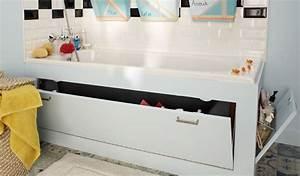 Tablier Pour Baignoire : diy fabriquer un tablier de rangement pour la baignoire ~ Premium-room.com Idées de Décoration