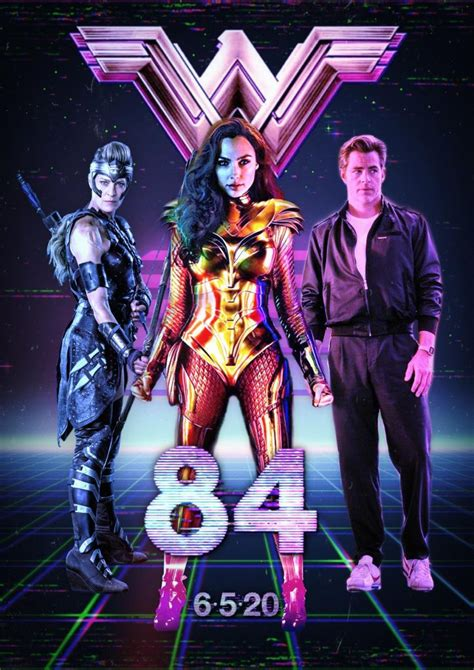 Wonder woman 1984 wall art. Cool 80s Inspired Wonder Woman 1984 Fanmade Movie Posters ...