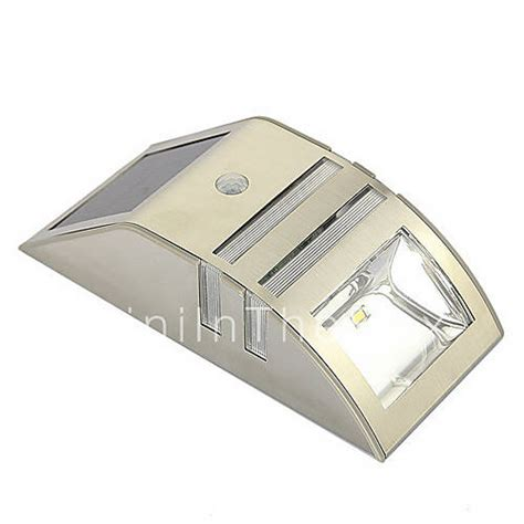 solar motion sensor super bright led wall light for