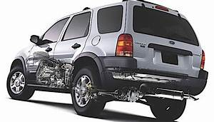2001 Ford Escape Parts Diagram