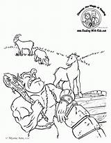 Billy Goats Gruff Coloring Three Pages Activities Goat Troll Sheets Fairy Sheet Tale Template Tales Colouring Printable Fairytale Printables Worksheets sketch template