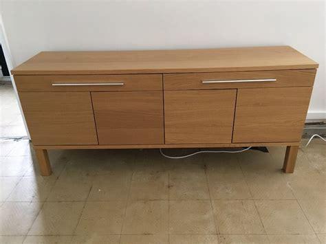 Ikea Side Board by Ikea Bjursta Sideboard Oak Veneer In Chester Cheshire