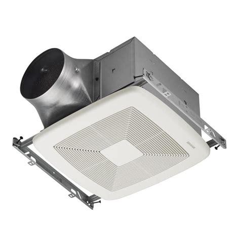 lowes kitchen exhaust fan shop broan 0 3 sone 110 cfm white bathroom fan energy star