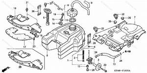 Honda Atv 2005 Oem Parts Diagram For Fuel Tank