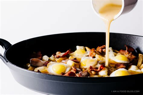poutine cuisine the breakfast poutine fries crispy quail eggs