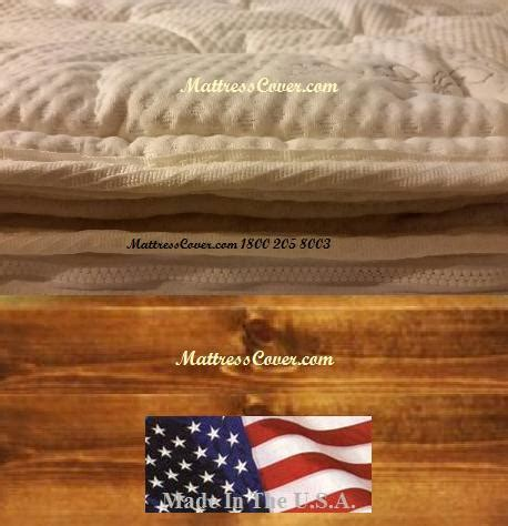 Waterbed Mattress Cover by Mattress Cover For Hardside Waterbeds Organic Cotton
