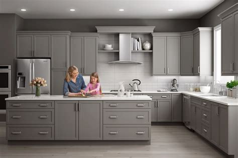 reasons  choose grey kitchen cabinets wolf home products
