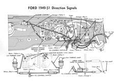 wiring for 1949 50 ford car ford 1949 50 51