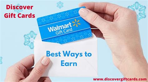 Walmart gift card is an outstanding option for you if you are quite serious to buy a gift for family and even though it's very simple. Best Ways to Earn Walmart Gift Cards- Discover Gift Cards ...