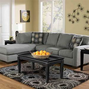 Signature design by ashley zella 2 pc sectional laf for Zella sectional sofa chaise