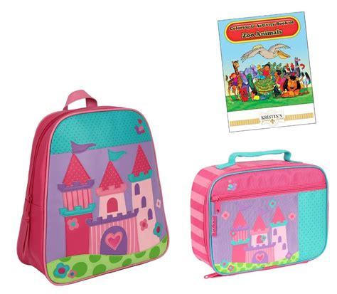 stephen joseph gogo go backpack lunch box set toddler 618 | 821491227 o