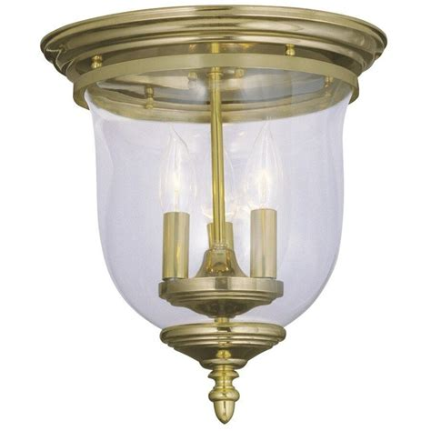 livex  light colonial semi flush mount ceiling lighting