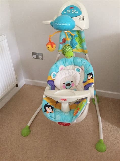in swing baby swing fisher price precious planet in plymouth