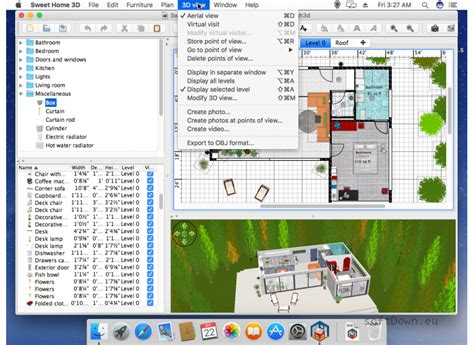 Sweet Home 3d For Mac, Free Download Softdowneu