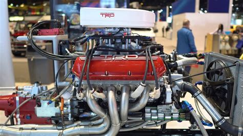 Anatomy Of A Toyota Supra Trd Nascar 5.8l V8 Engine
