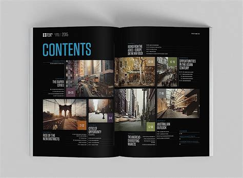 editorial design inspiration global cities report
