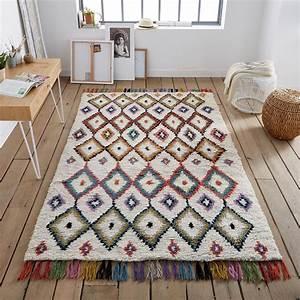 Grand Tapis Berbere : tapis style berb re ourika tapis style berbere grands ~ Teatrodelosmanantiales.com Idées de Décoration