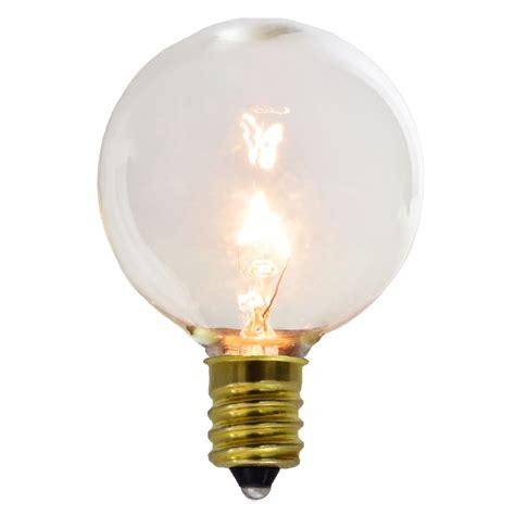 g50 light bulbs 2 pack